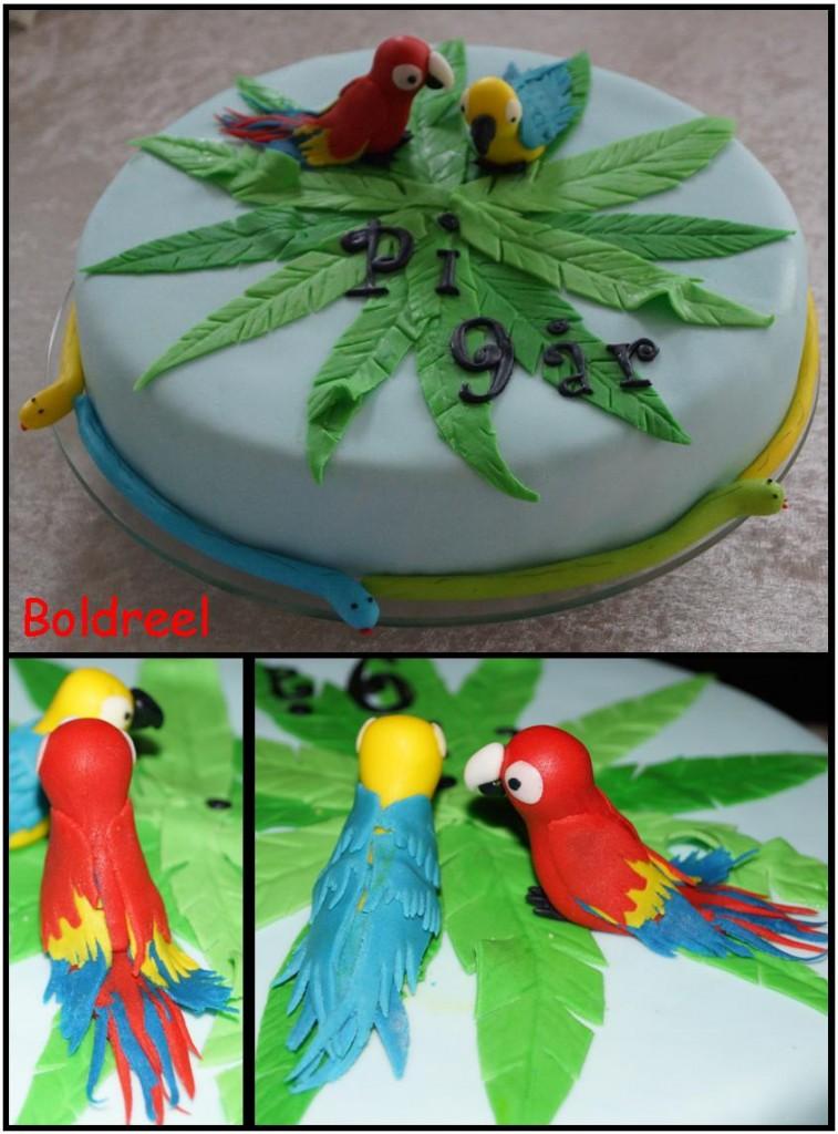 Papegøje kage