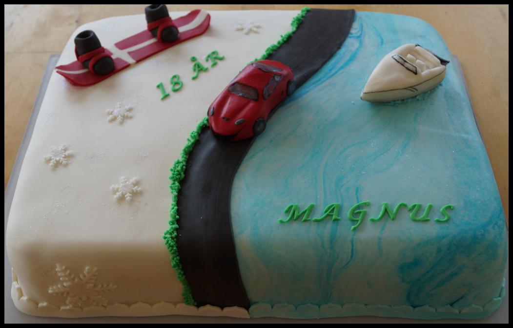 En kage med fart